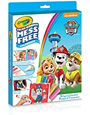 Crayola Paw Patrol Color Wonder Colouring Pad & Markers, Mess Free Colouring for Kids, Ages 3 and above, Summer Travel, Camping, Arts and Crafts
