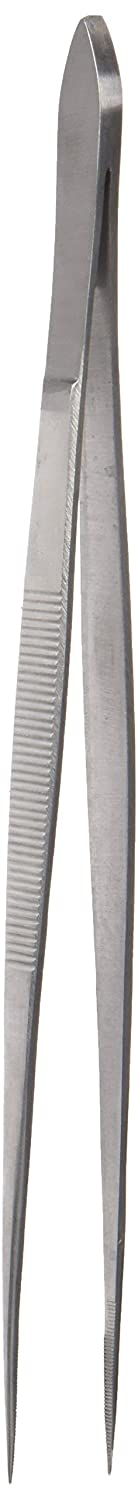 Neolab Electric 1366 18/8 Polished Steel Pointed Tip Tweezers 200 mm Long (Pack of 5) E-1366
