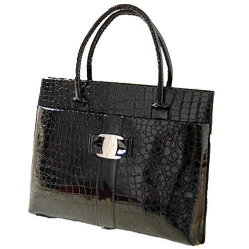 2016 New Snakeskin Pattern Retro Bag Two Bags Crocodile Handbag