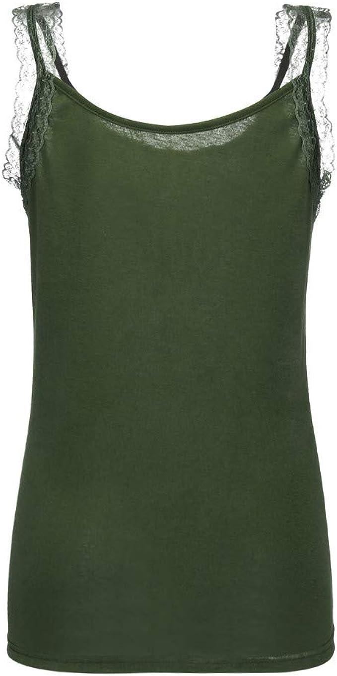 Femmes mousseline manches courtes T-Shirt Splice dentelle Crop gilet Tops Blouse