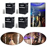 V-Show 400 W Wedding Special Effect Machine Stage Effect Machine for Party Concert Show equipment Controlled by DMX or Remote, Use in Big Show,Banquet (4pcs)