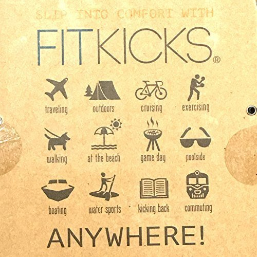 Price comparison product image FitKicks MEN's Active Lifestyle Footwear LIMITED.001 EDITION (Large, High Frequency - B/W static)
