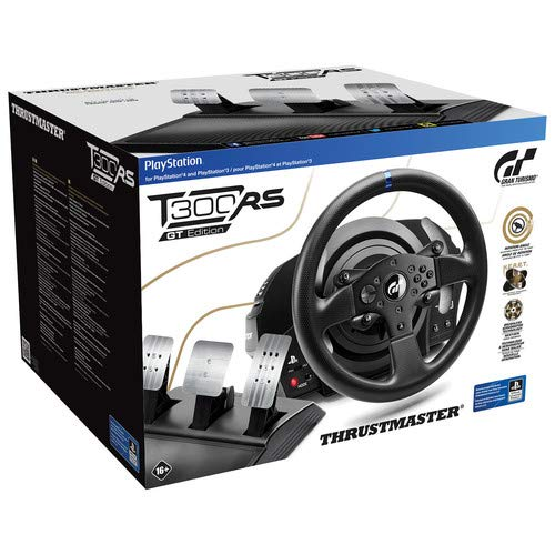 (Thrustmaster T300 RS GT Racing Wheel - PlayStation 4)