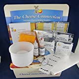 Super Deluxe Semi-hard and Hard Cheese Kit W/Cheddar Cheese Wax
