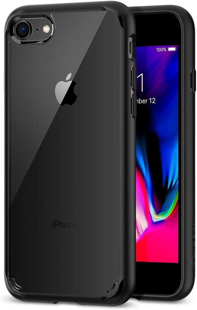 Spigen® [Ultra Hybrid 2 Kompatibel mit iPhone 8/7 Hülle - IPhone Hülle