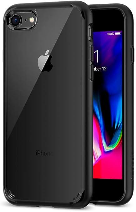 Amazon | 【Spigen】 iPhone8 ケース / iPhone7 ケース 対応 背面 ...