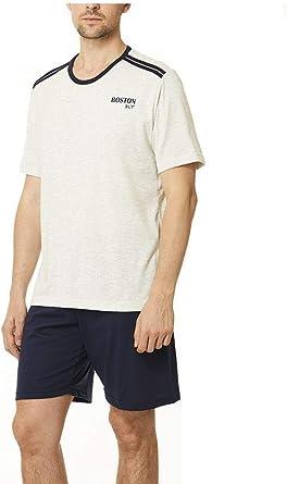 Pijama Hombre Boston Corto: Amazon.es: Ropa