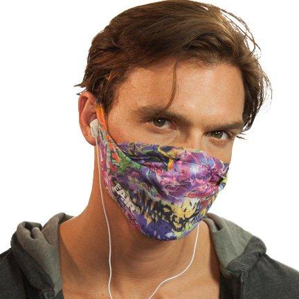 MyAir Comfort Mask, Starter Kit in Graffiti - Made in USA by MyAir