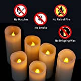 Flameless Candles, Led Candles Set of 9