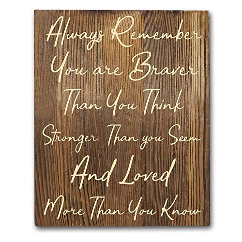 Winnie Quotes Rustic Art Hanging product image