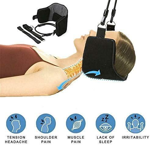 Nacken Hängematte, Isincer Tragbare Hängematte für Hals Schmerzlinderung der Halswirbelsäule und zur Entspannung