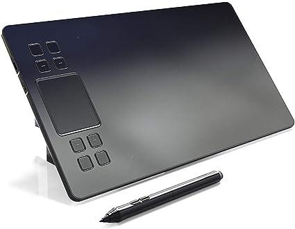 HAJZF Gráfico Profesional Mesa De Dibujo Tableta Digital 10 * 6 ...