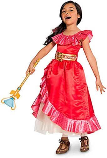 Disney Store Elena of Avalor Deluxe Dress Costume for Kids Party Halloween New
