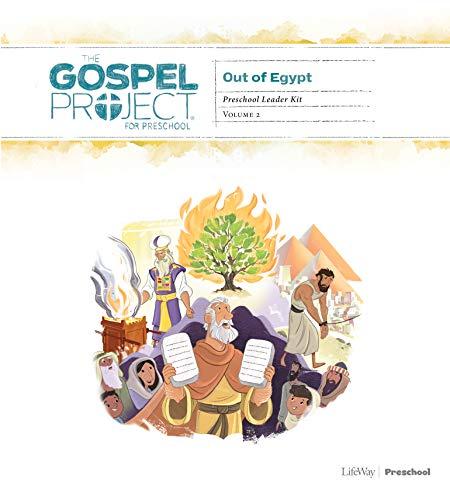 The Gospel Project for Preschool: Preschool Leader Kit - Volume 2: Out of Egypt ()