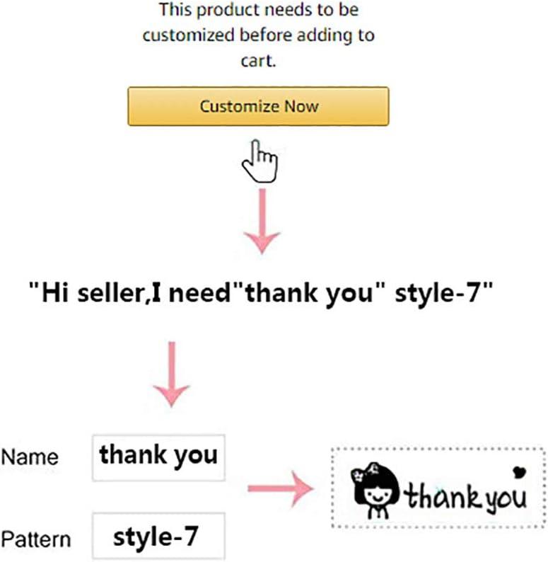 Blu Timbro personalizzato per abbigliamento Timbro personalizzato con nome autoinchiostrante Timbro immagine Uniforme scolastica Abbigliamento Tessuto Tessile Timbro per bambini Insegnanti T-shirt