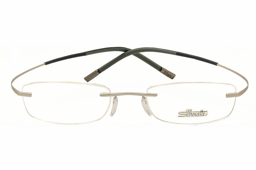 ed0dc47709bb Amazon.com  Silhouette Eyeglasses Titan Min Art Icon Chassis 7581 6060  Optical Frame 17x150  Health   Personal Care