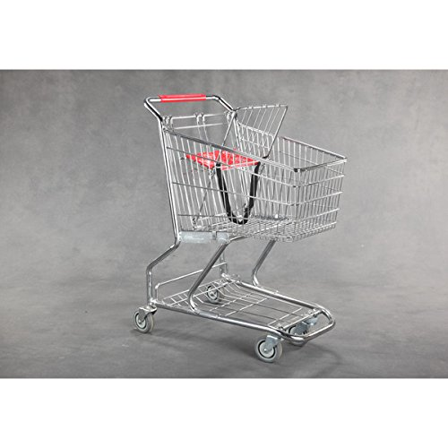New Extra Tough Steel Quality Grocery Shopping Carts 36'' h X 30'' l by Store Shopping Cart (Image #1)