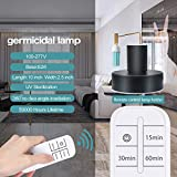 UV Germicidal Lamp with Base with Remote