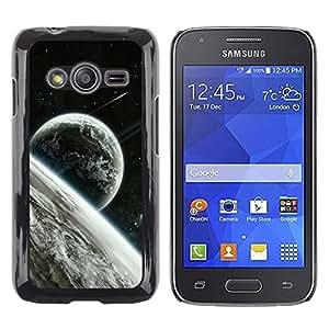 Be Good Phone Accessory // Dura Cáscara cubierta Protectora Caso Carcasa Funda de Protección para Samsung Galaxy Ace 4 G313 SM-G313F // Space Planet Galaxy Stars 22
