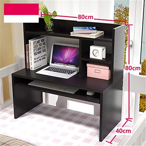 Escritorio de la computadora Escritorio de cama simple Colegio Dormitorio Litera Mesa de escritorio Mesa de madera Mesa...