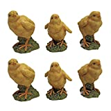 Design Toscano Baby Chicken Statues Hatching Chicks (Set of 6)