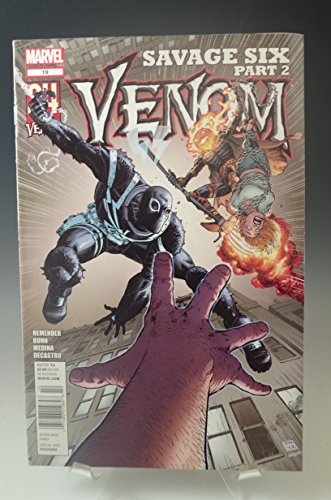 VENOM #19 SAVAGE SIX LAN MEDINA 2012 MARVEL COMIC BOOK (Six Venom Savage)