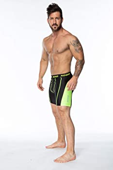 XOGO Mens Compression Shorts Base Layer Briefs Pants Running Gym Fitness