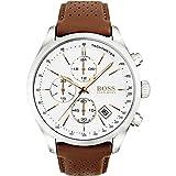 Hugo Boss Grand Prix Chronograph 1513475 Brown Men's Quartz Watch