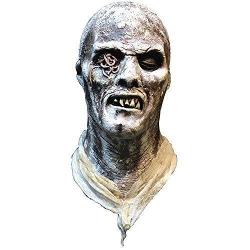 Trick or Treat Studios Men's Fucli Zombie Mask, Multi, One (Zombie Mask For Sale)