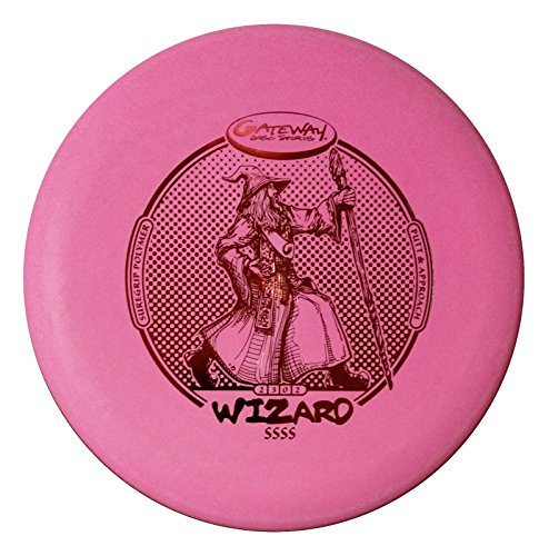 Gateway Wizard Super Silly Stupid Soft (SSSS) Disc Golf Putter - Pink - 175 (Soft Super Gateway Disc Wizard)