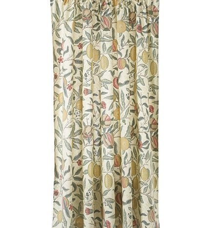 Kitchen Curtains William Morris U0026quot;Fruitsu0026quot; Design ...