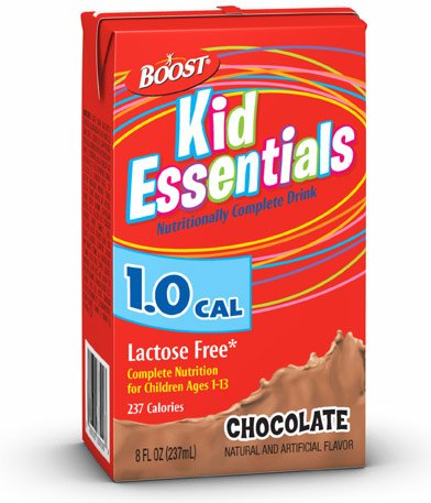 Boost Kids Essentials Nutritionally Complete Immunity Protection Drink, Chocolate Flavor - 8 Oz Ea, 27 Pack (Resource Boost)