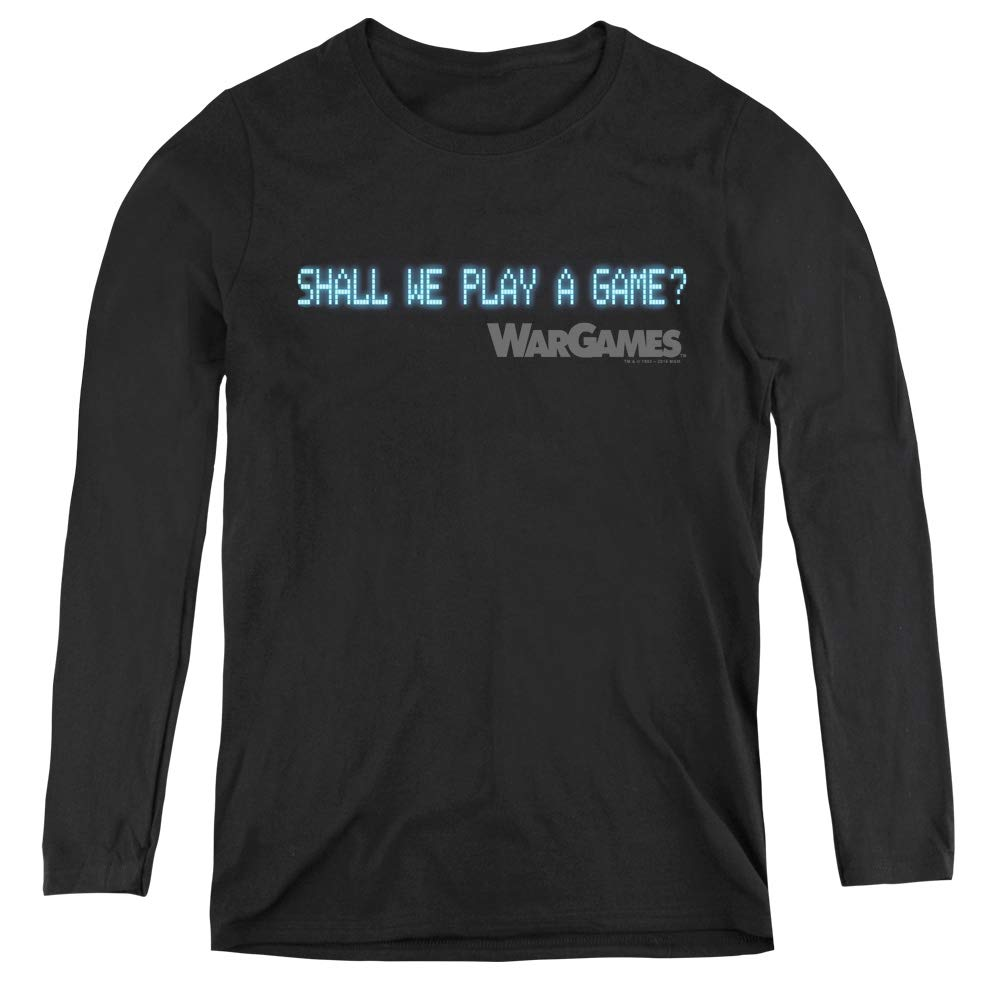 Wargames Shall We Adult Tank Top
