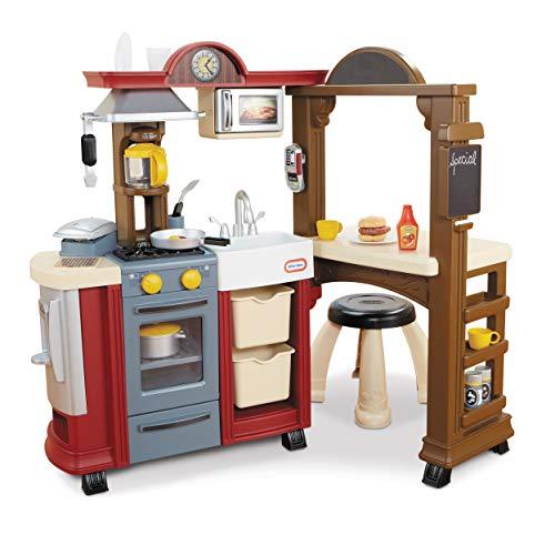Little Tikes Kitchen & Restaurant-Red - (Amazon Exclusive)
