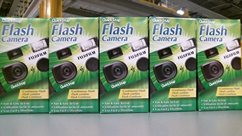 Fujifilm QuickSnap 400 Speed Single Use Camera with Flash (5-Pack) BHBUSWA1119