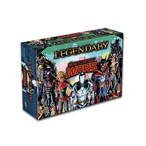 Upper Deck Legendary: extension Secret Wars