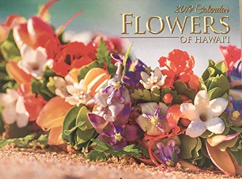 2019 Flowers of Hawaii 12 Month Wall Calendar