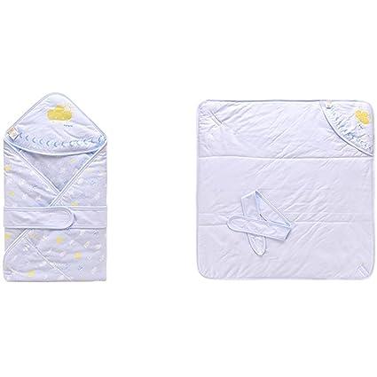 hahahaha GUO Primavera Mantas para bebés de algodón Delgada bebé Sacos de Dormir recién Nacidos Tienen