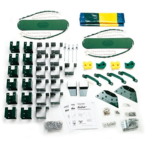 - Kodiak Custom Play Set Hardware Kit (wood not included)