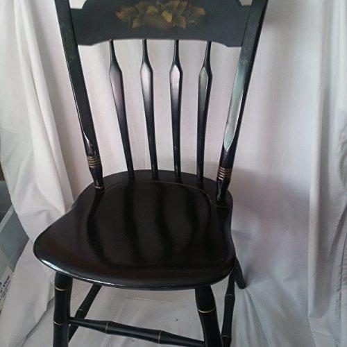 ethan-allen-black-harvest-chair