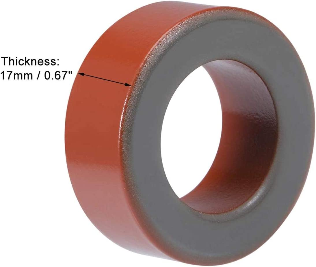 ZOZOSEP T175-2 26.8 x 45.2 x 17mm Nucleo in ferrite Anello di Ferro in Polvere toroidali Nuclei