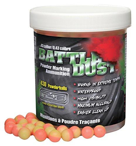 T4E Battle Dust 0.43-Caliber Powder Balls, Pink/Yellow, 430 Count