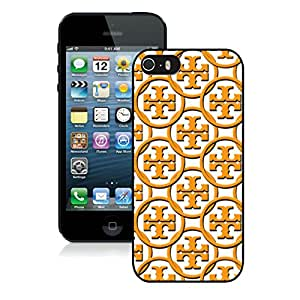 Lovely And Unique Designed Cover Case For iPhone 5 With Tory Burch 59 Black Phone Case