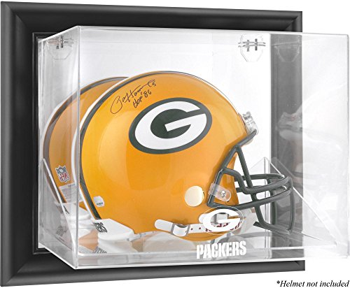 Mounted Memories Green Bay Packers Wall Mounted Helmet Display - Green Bay Packers One Size by Mounted Memories