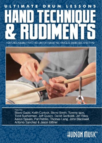 (Ultimate Drum Lessons: Hand Technique and Rudiments DVD)