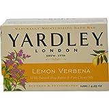 Yardley Lemon Verbena with Shea Butter Bar Soap, 4.25 Ounce, Health Care Stuffs