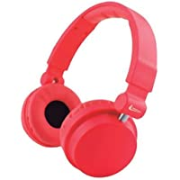 Headphone com Microfone Cool Colors Vermelho 2792 - Leadership