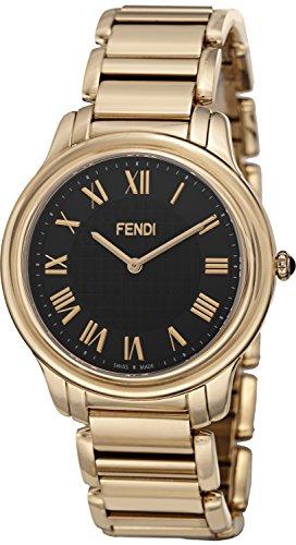 Fendi Men's F251411000 Classico Analog Display Quartz Gold - Men Fendi