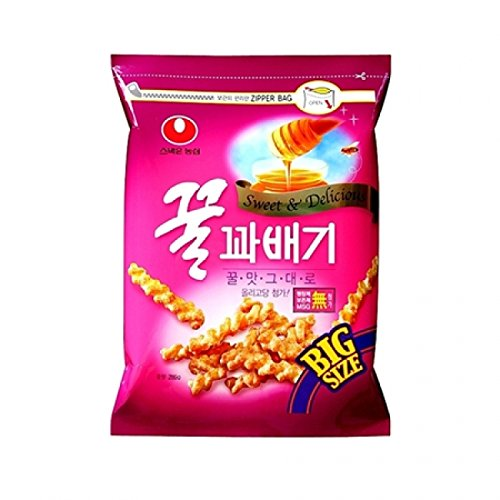 Nongshim Honey Flavored Twist Snack - Big Size