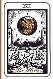 The Moon Tarot Card Journal: Major Arcana Tarot